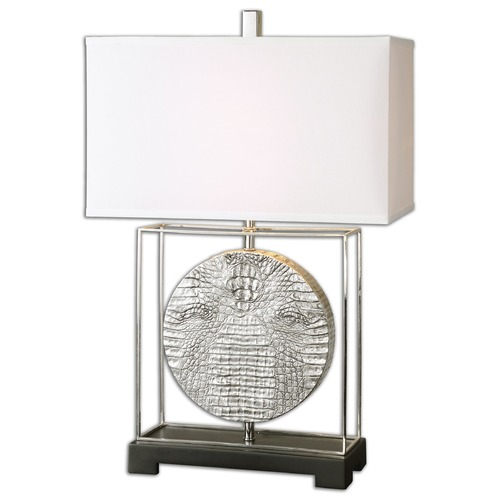 Uttermost Lighting Uttermost Taratoare Polished Nickel Lamp 26181-1