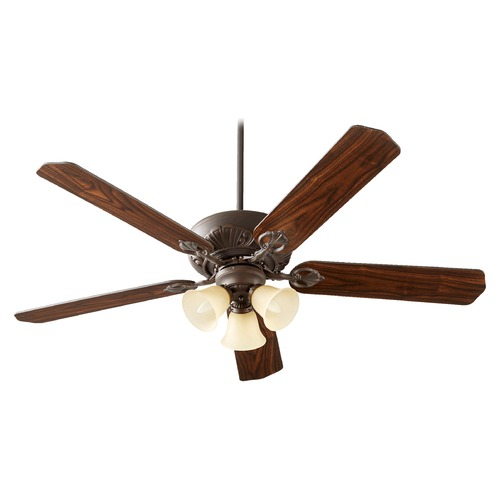 Quorum Lighting Quorum Lighting Chateaux Uni-Pack Oiled Bronze Ceiling Fan with Light 78605-1786