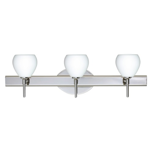Besa Lighting Besa Lighting Tay Chrome LED Bathroom Light 3SW-560507-LED-CR