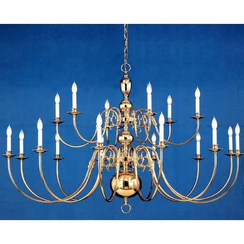 Crystorama Lighting Crystorama Lighting Hot Deal Polished Brass Chandelier 4224-PB