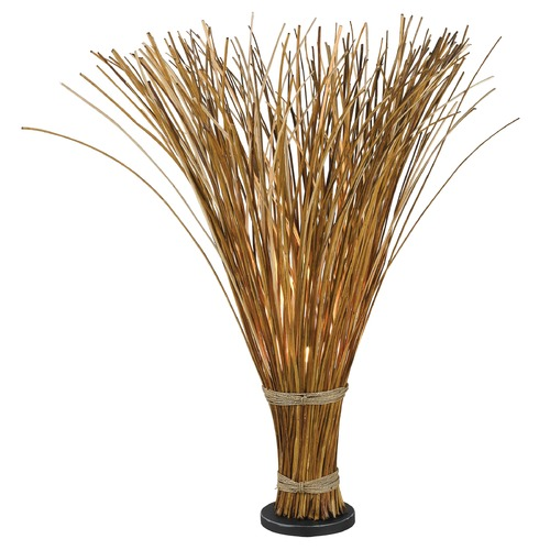 Kenroy Home Lighting Floor Lamp in Natural Reed Finish 21065NR
