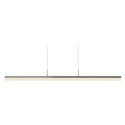 Sonneman Lighting Sonneman Lighting Stiletto Bright Satin Aluminum LED Pendant Light with Rectangle Shade 2347.16