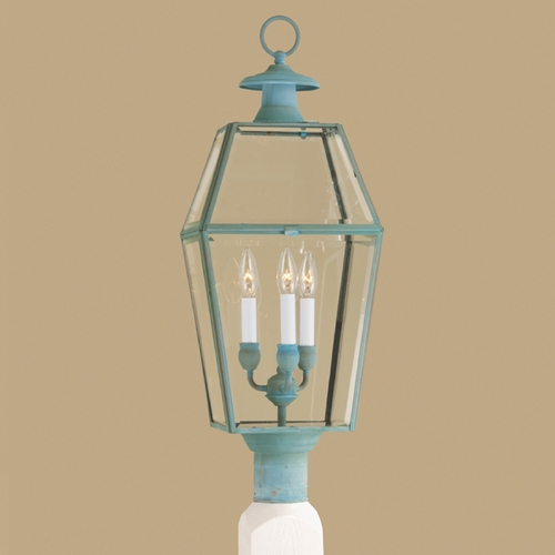 Norwell Lighting Norwell Lighting Olde Colony Verde Post Light 1068-VE-BE