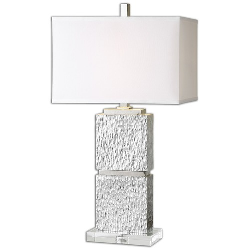 Uttermost Lighting Uttermost Eumelia Silver Table Lamp 26182-1