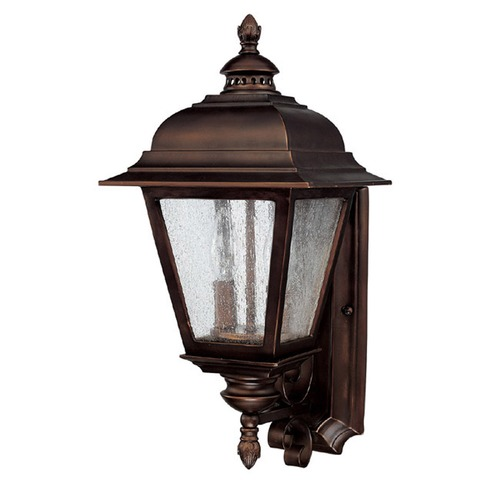 Capital Lighting Capital Lighting Brookwood Burnished Bronze Outdoor Wall Light 9962BB