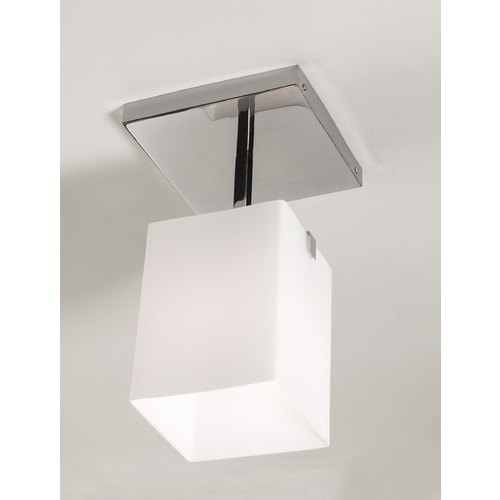 Illuminating Experiences Illuminating Experiences Symmetry Semi-Flushmount Light SYMMETRY1SN