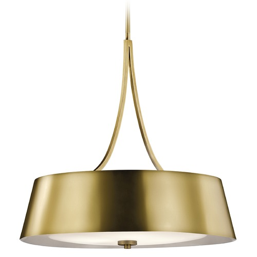 Kichler Lighting Kichler Lighting Maclain Pendant Light with Bowl / Dome Shade 43742NBR