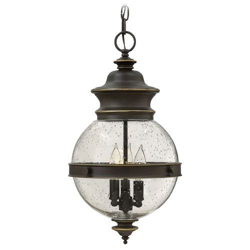 Hinkley Lighting Hinkley Lighting Saybrook Oil Rubbed Bronze Outdoor Hanging Light 2342OZ