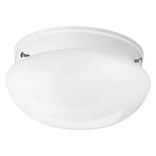 Progress Lighting Progress Lighting Fitter White Flushmount Light P3408-30WB