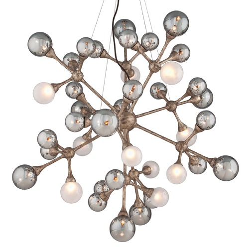 Corbett Lighting Corbett Lighting Element Vienna Bronze Pendant Light with Globe Shade 206-440