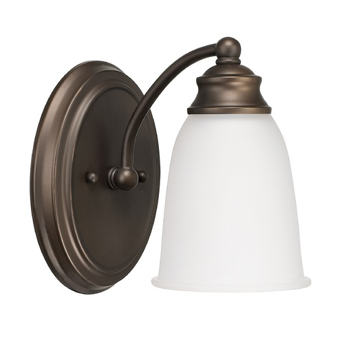 Capital Lighting Capital Lighting Capital Vanities Burnished Bronze Sconce 1081BB-132