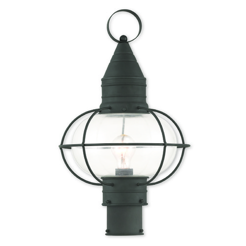 Livex Lighting Livex Lighting Newburyport Black Post Light 26905-04