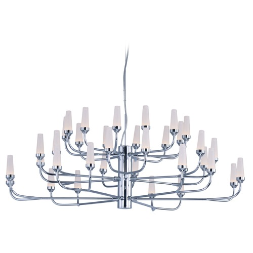 ET2 Lighting Candela LED Polished Chrome LED Chandelier E24365-09PC
