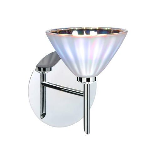 Besa Lighting Besa Lighting Domi Chrome Sconce 1SW-184395-CR