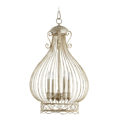 Quorum Lighting Quorum Lighting Persian White Pendant Light 6764-4-70