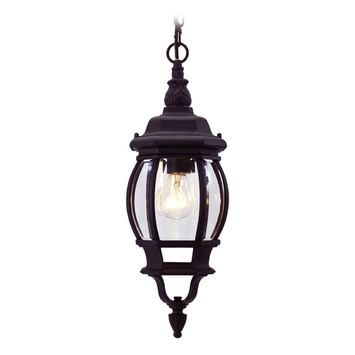 Livex Lighting Livex Lighting Frontenac Black Outdoor Hanging Light 7523-04