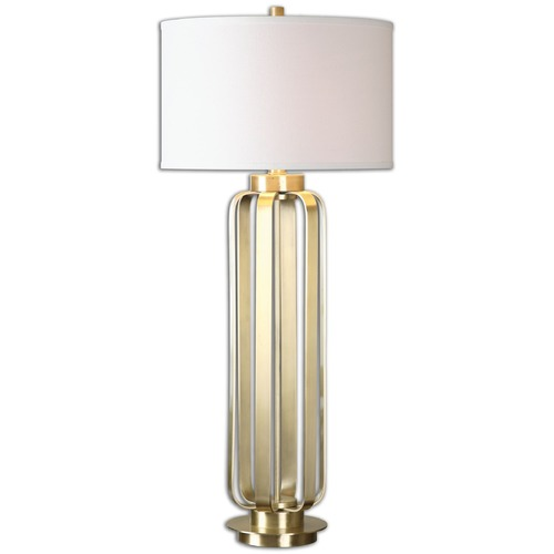 Uttermost Lighting Uttermost Baronia Gold Table Lamp 26183-1
