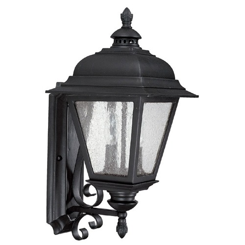 Capital Lighting Capital Lighting Brookwood Black Outdoor Wall Light 9962BK