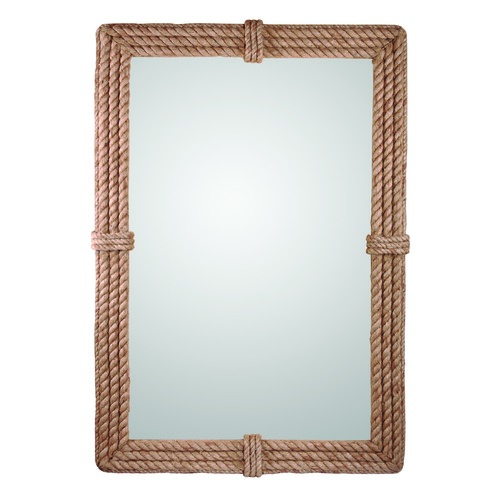 Kenroy Home Lighting Rectangle 28-Inch Decorative Mirror by Kenroy Home 60206