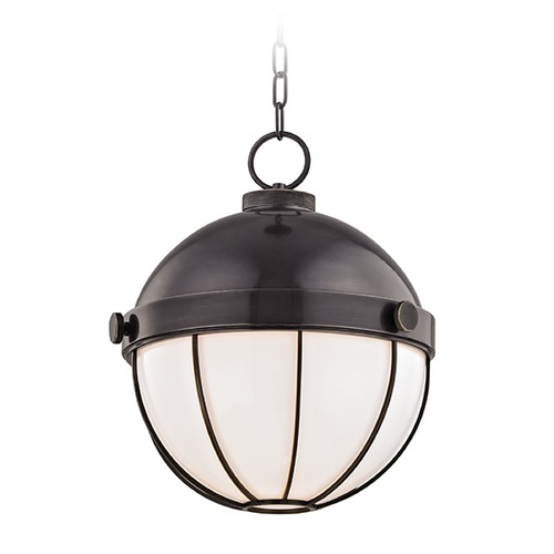 Hudson Valley Lighting Hudson Valley Lighting Sumner Old Bronze Pendant Light with Bowl / Dome Shade 2315-OB