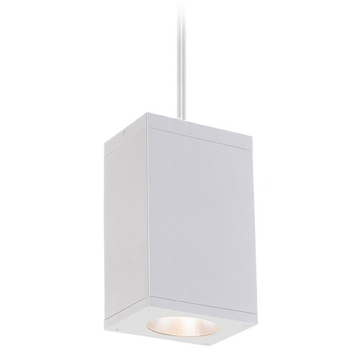 WAC Lighting Wac Lighting Cube Arch White LED Outdoor Hanging Light DC-PD06-N840-WT