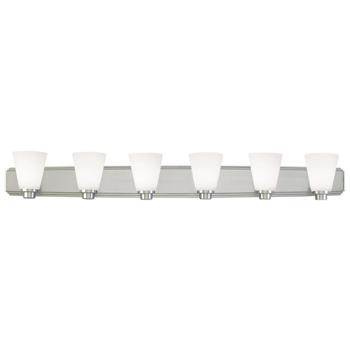Dolan Designs Lighting Six-Light Bathroom Light 3406-09