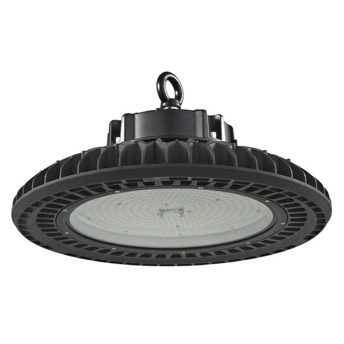 Recesso Lighting by Dolan Designs UFO LED High Bay Light Black 240-Watt 120v-277v 33990 Lumens 5000K 120 Degree Beam Spread HB01-240W-50-BK