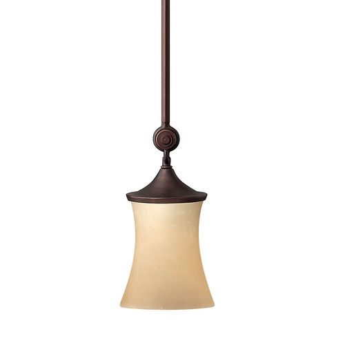 Hinkley Lighting Mini-Pendant with Hourglass Shade 4177VZ