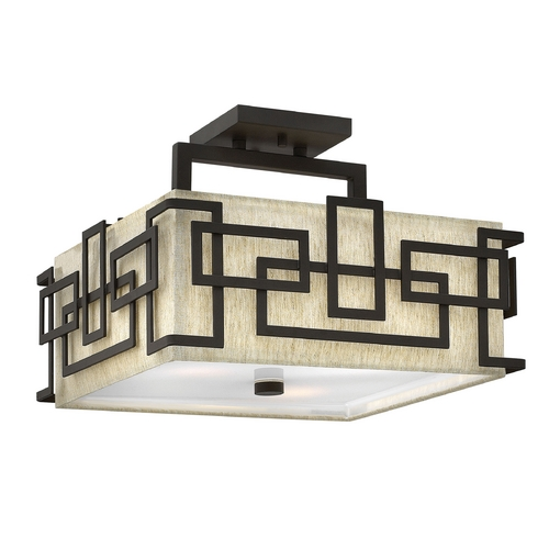 Hinkley Lighting Semi-Flushmount Lights in Oil Rubbed Bronze Finish 3161OZ