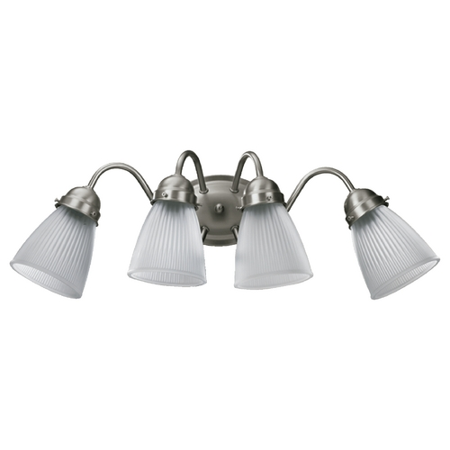Quorum Lighting Quorum Lighting Satin Nickel Bathroom Light 5403-4-165