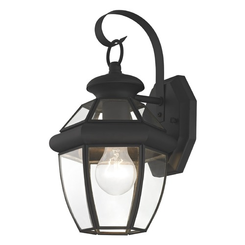 Livex Lighting Livex Lighting Monterey Black Outdoor Wall Light 2051-04