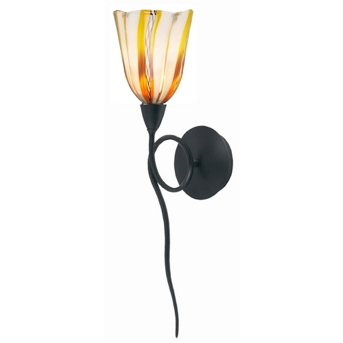 Oggetti Lighting Oggetti Lighting Amore Matte Black Sconce 18-5505F