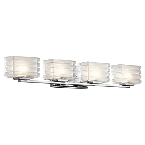 Kichler Lighting Kichler Lighting Bazely Bathroom Light 45480CH