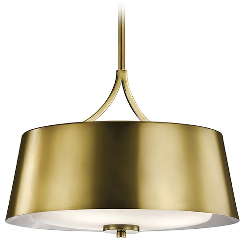 Kichler Lighting Kichler Lighting Maclain Pendant Light with Bowl / Dome Shade 43744NBR