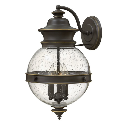 Hinkley Lighting Hinkley Lighting Saybrook Oil Rubbed Bronze Outdoor Wall Light 2345OZ