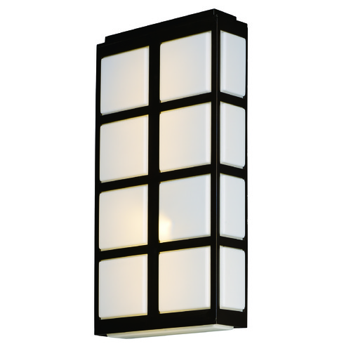Maxim Lighting Maxim Lighting International Packs Metallic Bronze LED Outdoor Wall Light 53594WTMB