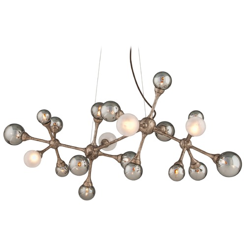 Corbett Lighting Mid-Century Modern Pendant Light Bronze Element by Corbett Lighting 206-520