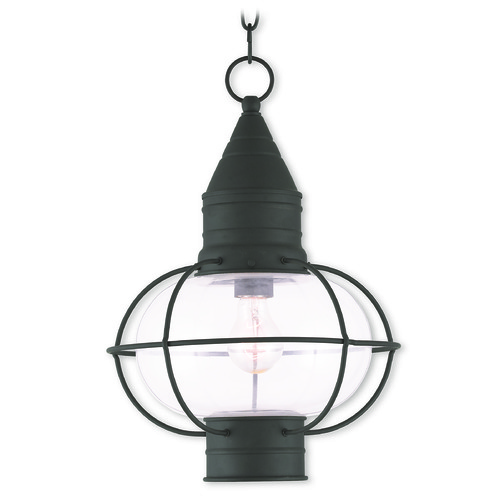 Livex Lighting Livex Lighting Newburyport Black Outdoor Hanging Light 26906-04