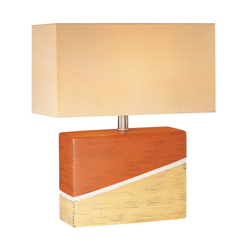 Lite Source Lighting Lite Source Lighting Hestia Table Lamp with Rectangle Shade LS-20386