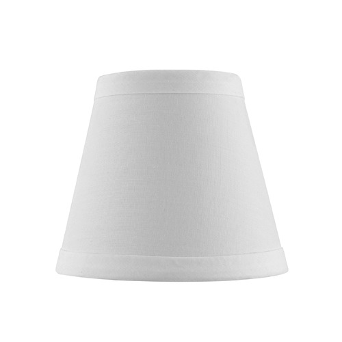 Design Classics Lighting Clip-On Empire Off White Lamp Shade SH9604