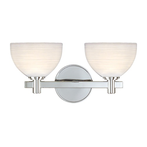 Hudson Valley Lighting Hudson Valley Lighting Mercury Polished Chrome Bathroom Light 1402-PC