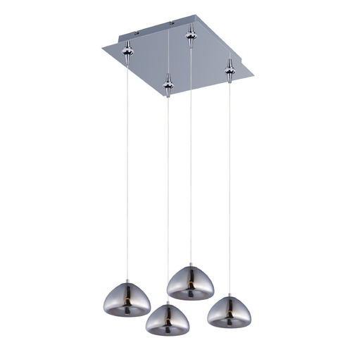 ET2 Lighting Vive Polished Chrome LED Multi-Light Pendant E22523-81PC