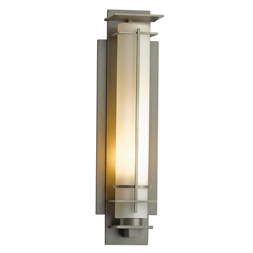 Hubbardton Forge Lighting Hubbardton Forge Lighting After Hours Burnished Steel Outdoor Wall Light 307858-08-G185
