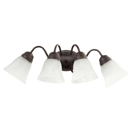 Quorum Lighting Quorum Lighting Toasted Sienna Bathroom Light 5403-4-44