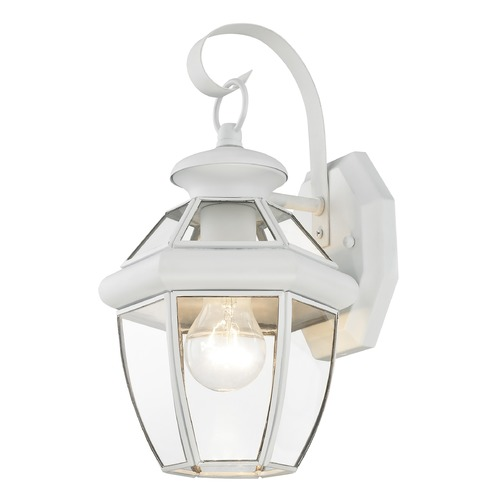 Livex Lighting Livex Lighting Monterey White Outdoor Wall Light 2051-03