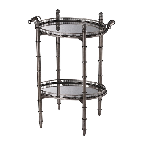 Sterling Lighting Sterling Lighting Silver Accent Table 6043716