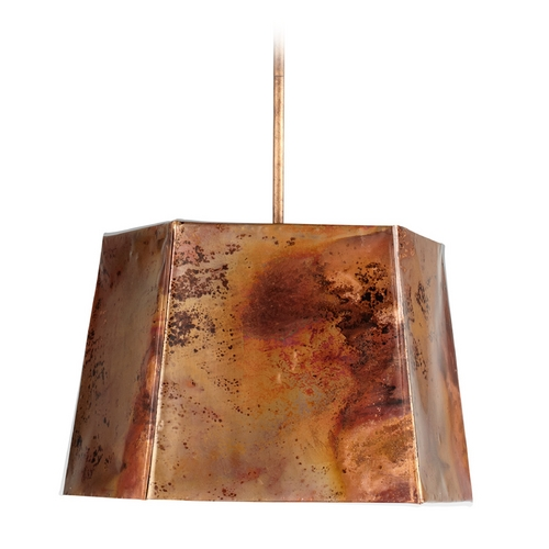 Cyan Design Cyan Design Heritage Copper Pendant Light with Hexagon Shade 05157