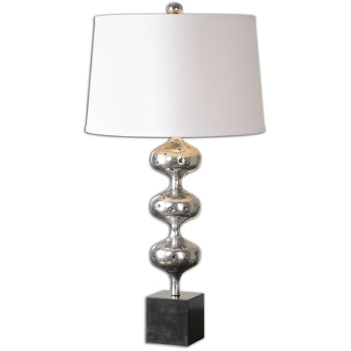 Uttermost Lighting Uttermost Cloelia Polished Silver Lamp 26185
