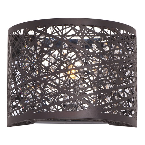 ET2 Lighting Inca 1-Light Wall Sconce W/LED Bulb E21302-10BZ/BUL