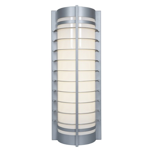 Access Lighting Access Lighting Kraken Satin Nickel Outdoor Wall Light 20346-SAT/ACR